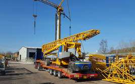 GAPO on low loader transport